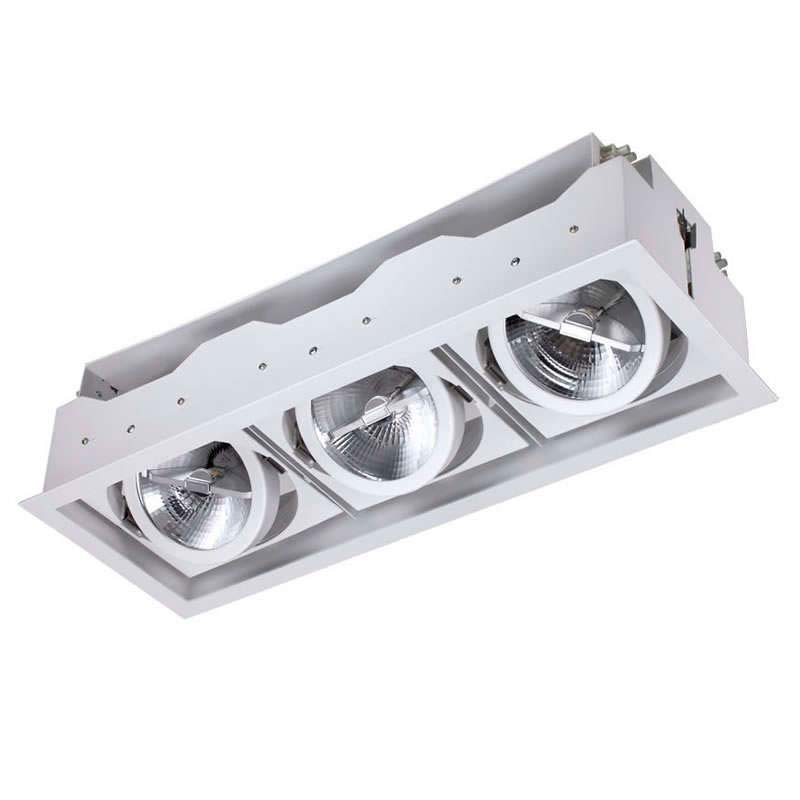 housing para downlight led kardan elafon focos